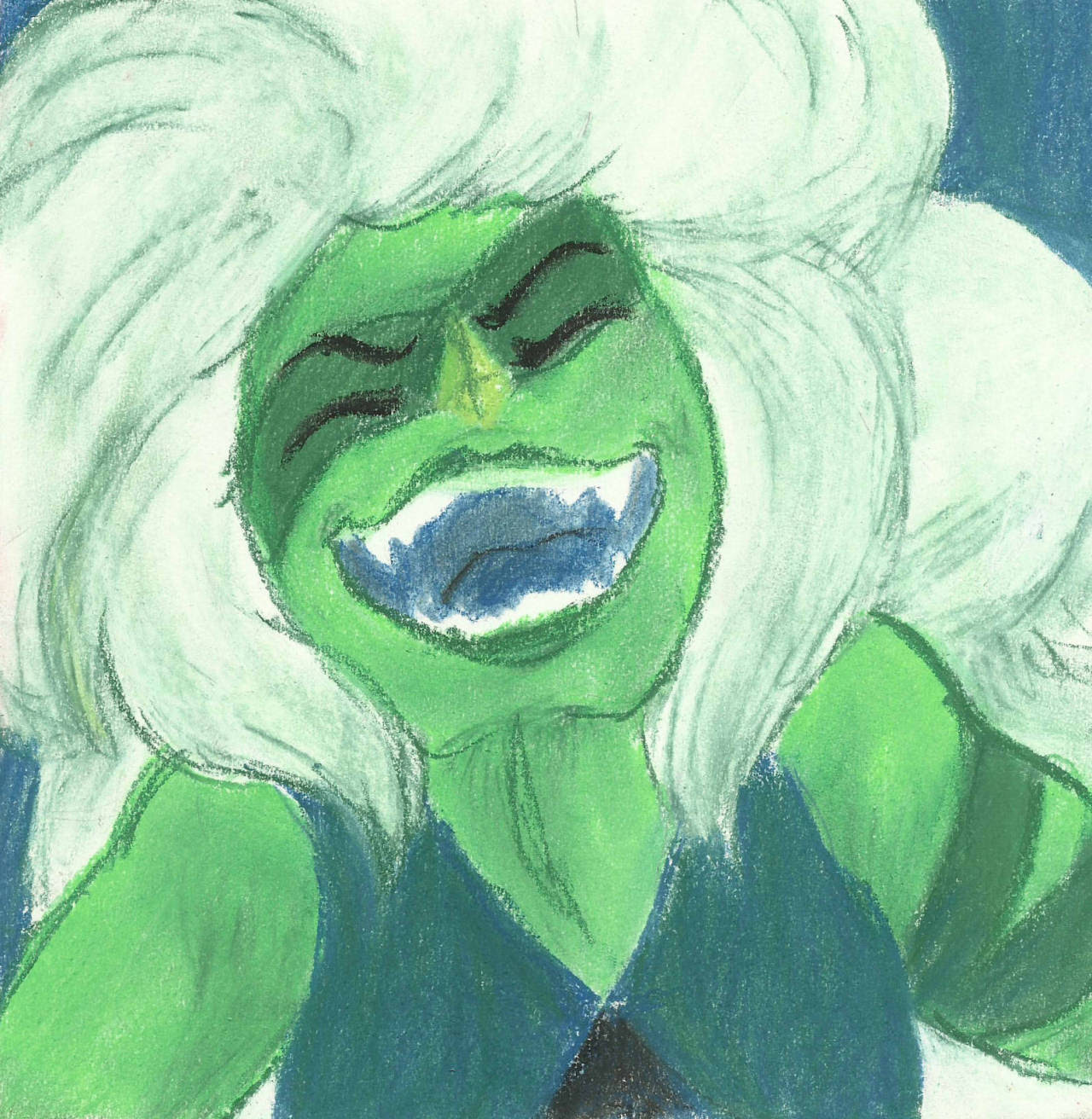 Long overdue, finally finished the gem pastel portraits :
