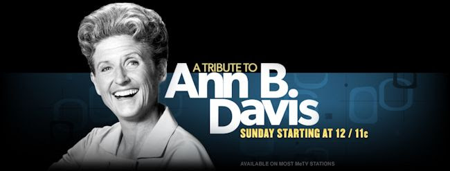 MeTV - A Tribute to Ann B. Davis