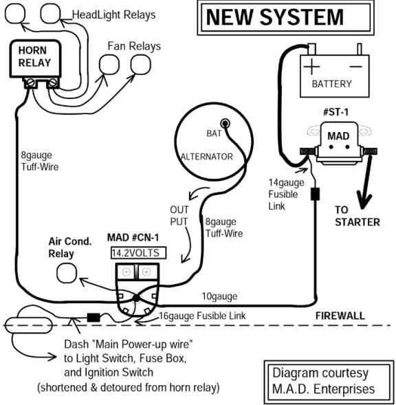Alternator Wiring Diagram 1957 2wire Chevrolet Alternator Wiring For Wiring Diagram Schematics