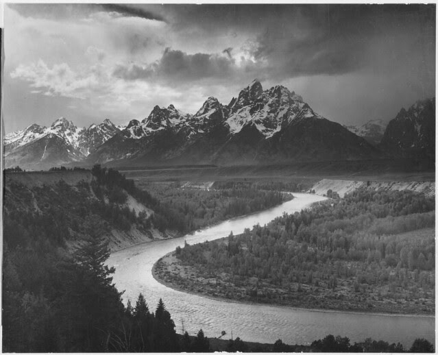 """The Tetons - Snake River,"" Grand Teton National Park, Wyoming."