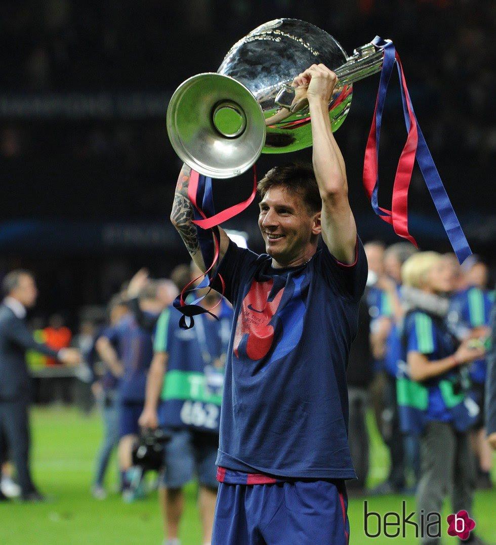 Leo Messi con su cuarta Champions League - Los jugadores ...