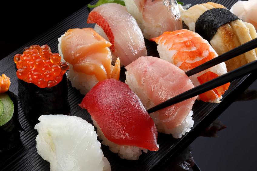 Sushi hải sản Nhật Bản