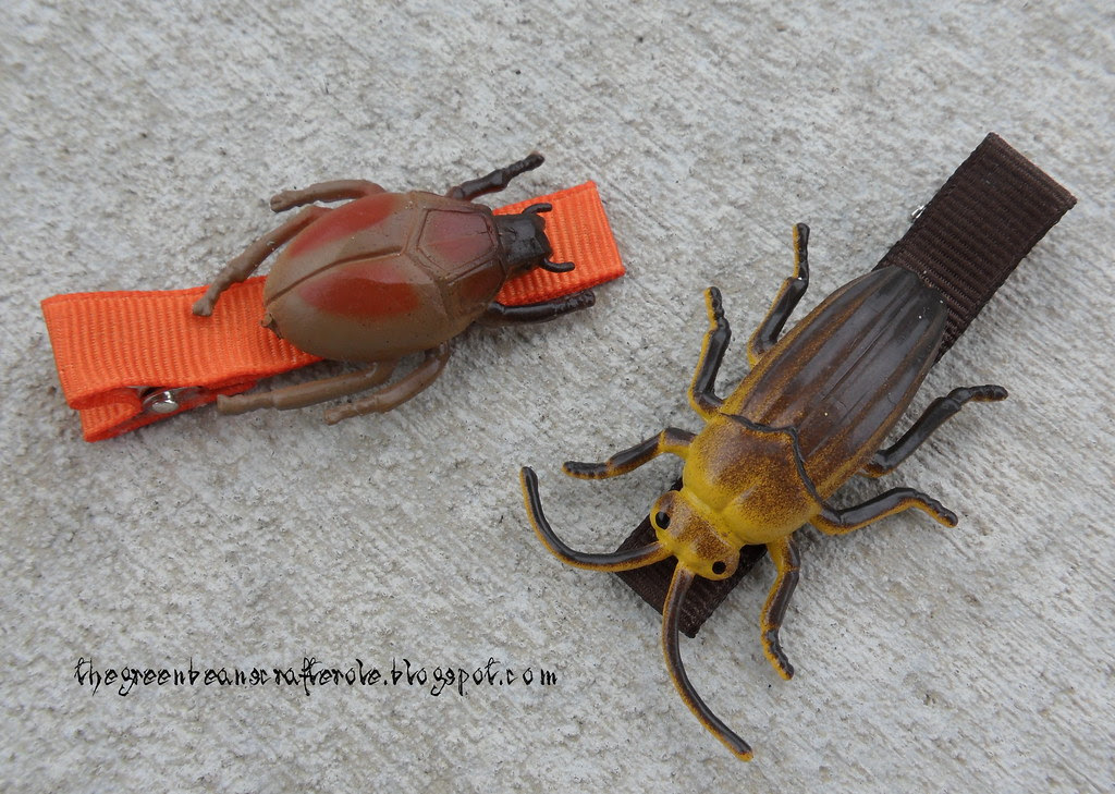 bug barrettes