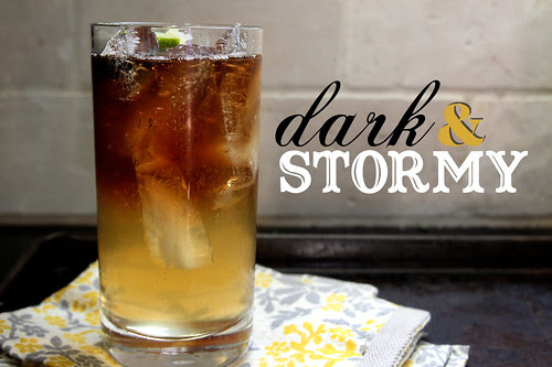 Image result for dark and stormy cocktail