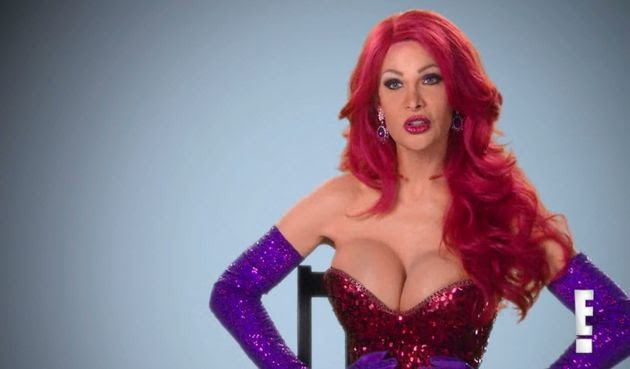 'Botched' patient (  transgender woman) spent $200K on surgery to look like Jessica Rabbit ( choiced by Sexy Groove Radio)