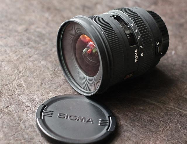 My new camera family - Sigma 10-20mm