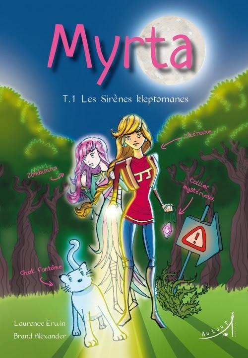 Couverture Myrta, tome 1 : Les Sirènes kleptomanes