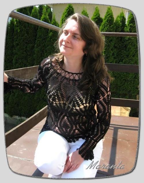 bluzka szydełkowa