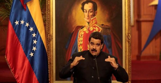 El presidente de Venezuela, Nicolás Maduro, hace unos días en Caracas. REUTERS/Marco Bello