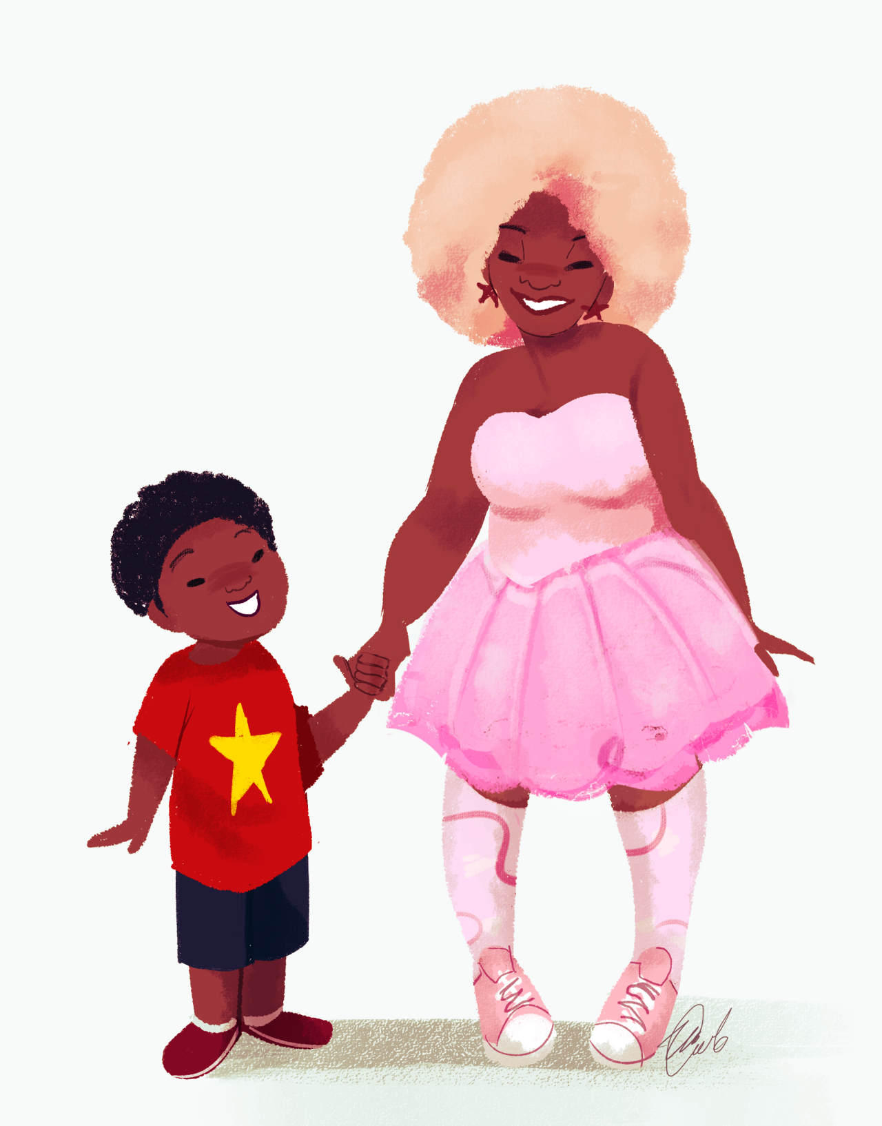 I'm sorry, I just had to doodle them. Adorable cosplay ♥