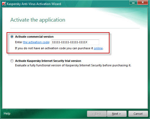 kaspersky antivirus 2010 activation key