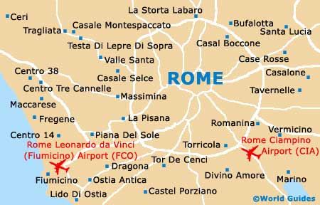 city map of rome italy