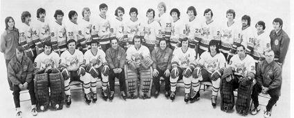 1972-73 Minnesota Fighting Saints team, 1972-73 Minnesota Fighting Saints team