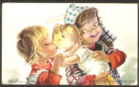 tarjeta NAVIDAD CONSTANZA - 1962 (Postales - Navidad)