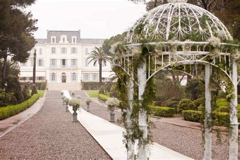 The Best Wedding Venues in the South of France ~ Hotel du