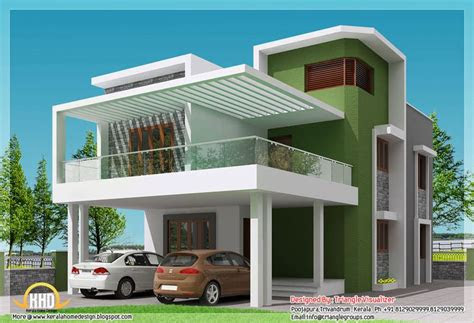 simple modern home square feet bedroom contemporary kerala