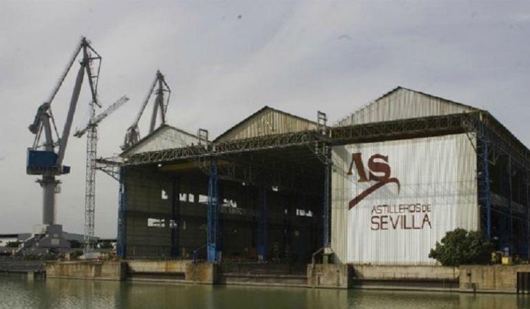 Resultado de imagen de Astilleros de Sevilla