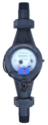 """CWS Pulse Water Meter w/ Reed Switch 1"""""""