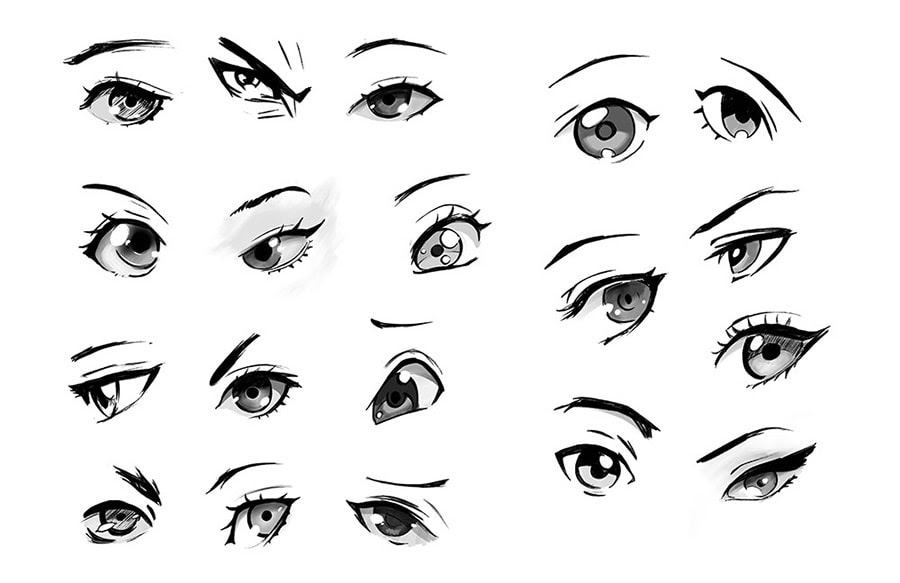 Finally Learn To Draw Anime Eyes A Step By Step Guide Gvaat S Workshop