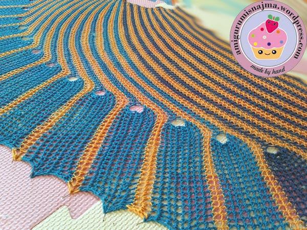 chal ganchillo najma crochet shawl
