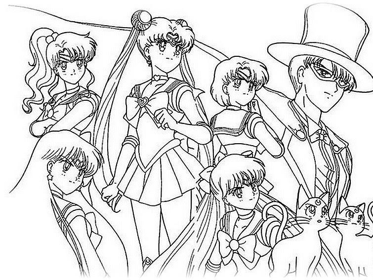 Ausmalbilder Anime Zum Ausdrucken Ausmalbilder
