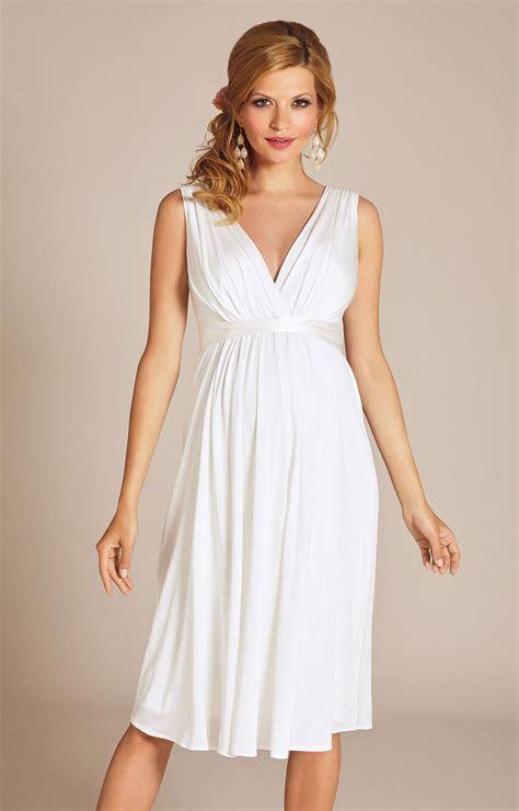 Anastasia Maternity Wedding Dress Short (Ivory