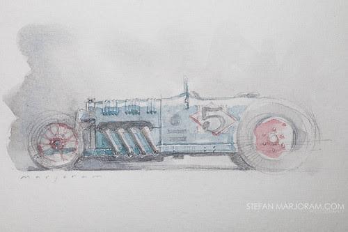 Auto Art Advent 05 by Stefan Marjoram