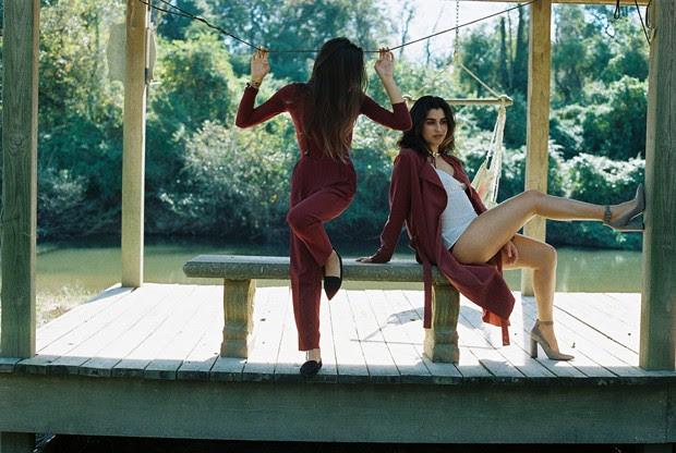 Lauren Jauregui e Lucy Vives (Foto: Nicole Cartolano)