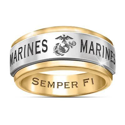 Ring: USMC Semper Fi Mens Spinning Ring