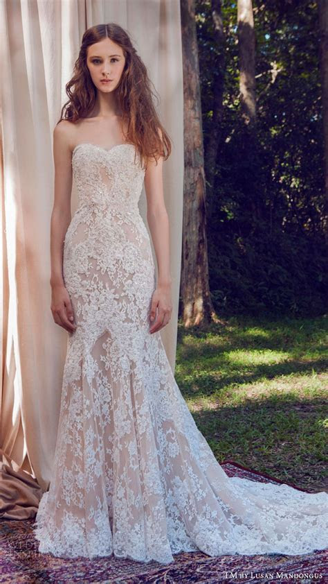 LM by Lusan Mandongus 2017 Wedding Dresses in 2019