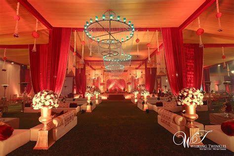 'The Mughal Era' themed Decor for A Muslim Wedding by