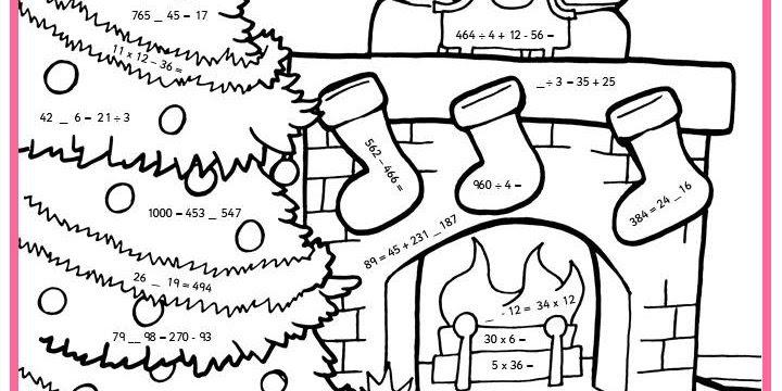 Christmas Maths Worksheets Ks4 - demo graphicweave » free ...