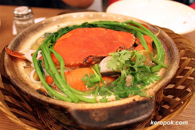 Claypot Crab