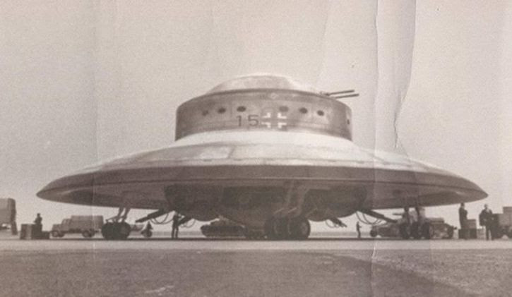 platillo volador nazi