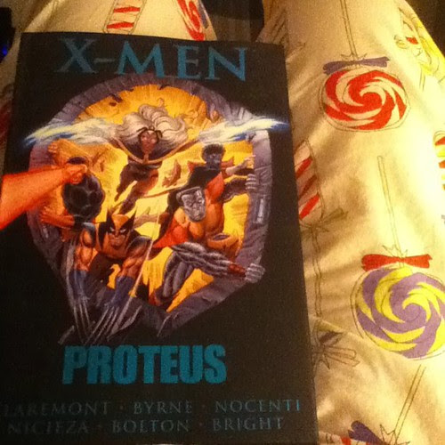 Bedtime reading #XMen #comics #proteus