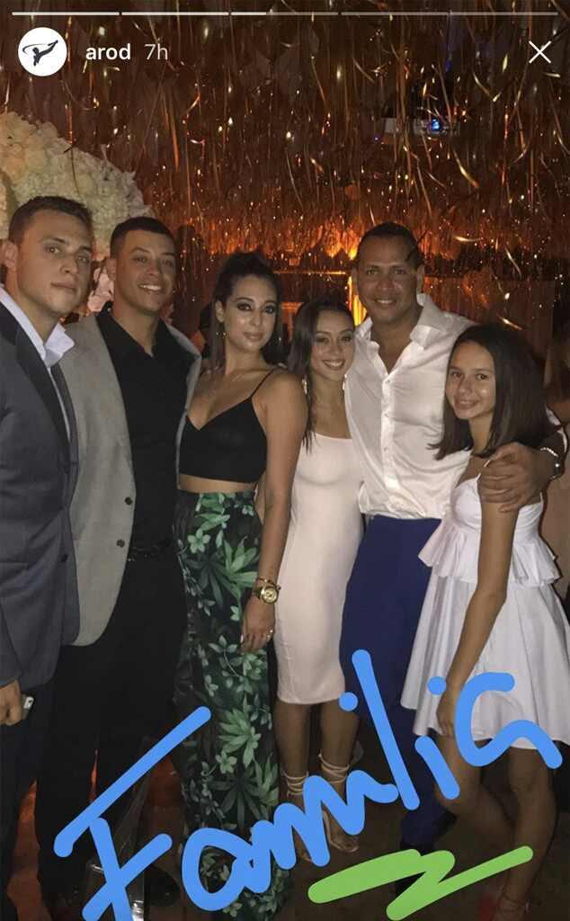 Jennifer Lopez, Alex Rodriguez, Birthday, Party