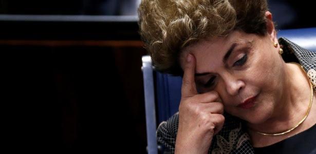 Dilma prestou depoimento no Senado no julgamento do seu impeachment na segunda-feira
