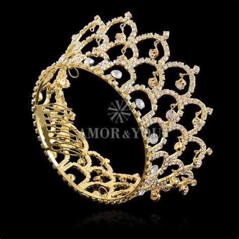 Fashion Wedding Accessories Make Diamond Crown Tiara Cheap
