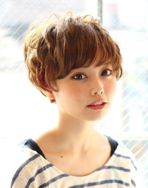女性 パーマ ベリーショート ヘアスタイル・髪型・ヘアカタログ  - ショートヘアカタログ パーマ