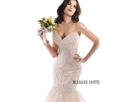 Maggie Sottero Marianne, $1,200 Size: 14   Used Wedding