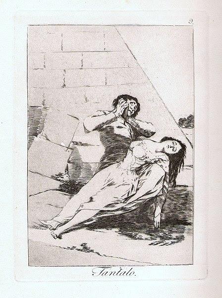 Tántalo de Goya