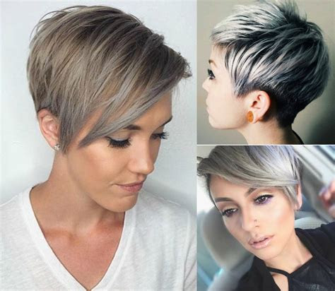 winter fit extravagant silver pixie haircuts hairdromecom