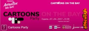 Cartoons on the Bay: Cartoons Party e altro ancora!