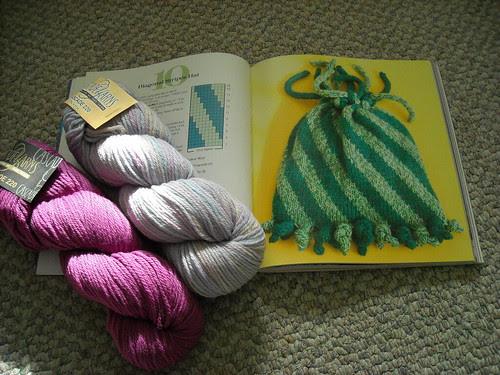 Project #10 - Diagonal Stripes Hat