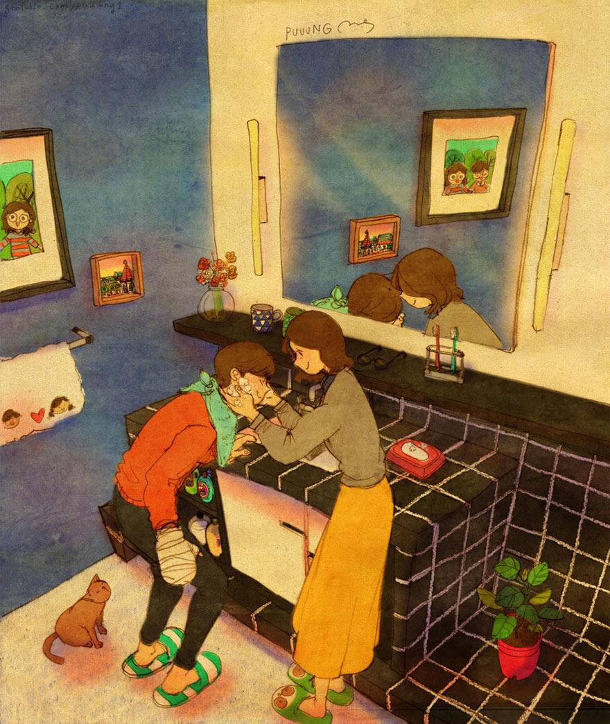 ilustraciones-acuarelas-amor-pequenas-cosas-puuung-2 (10)