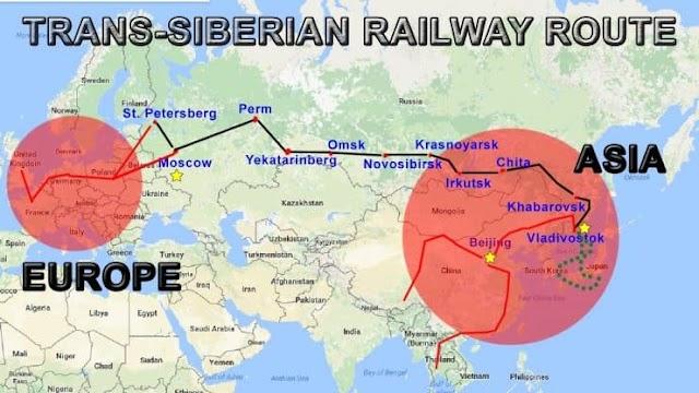Rusia planea una alternativa al Canal de Suez