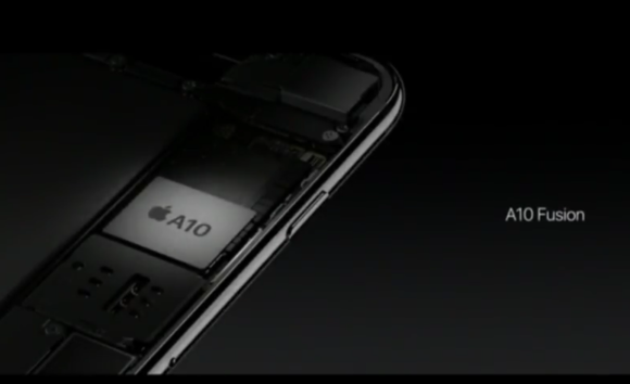 'Fastest smartphone chip ever,' the A10 Fusion, powers Apple's new iPhone 7