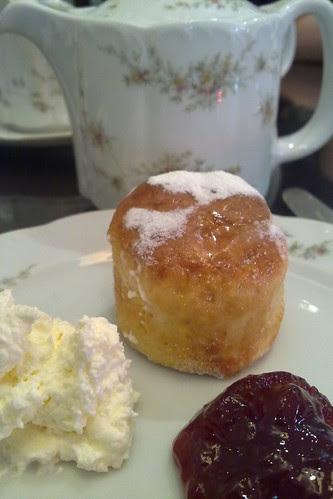 Scones at Goodwood Park Hotel cafe hi-tea buffet