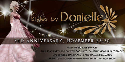 Styles by Danielle 3rd Anniversary