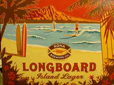 Longboard Lager from the Kona Brewing Company